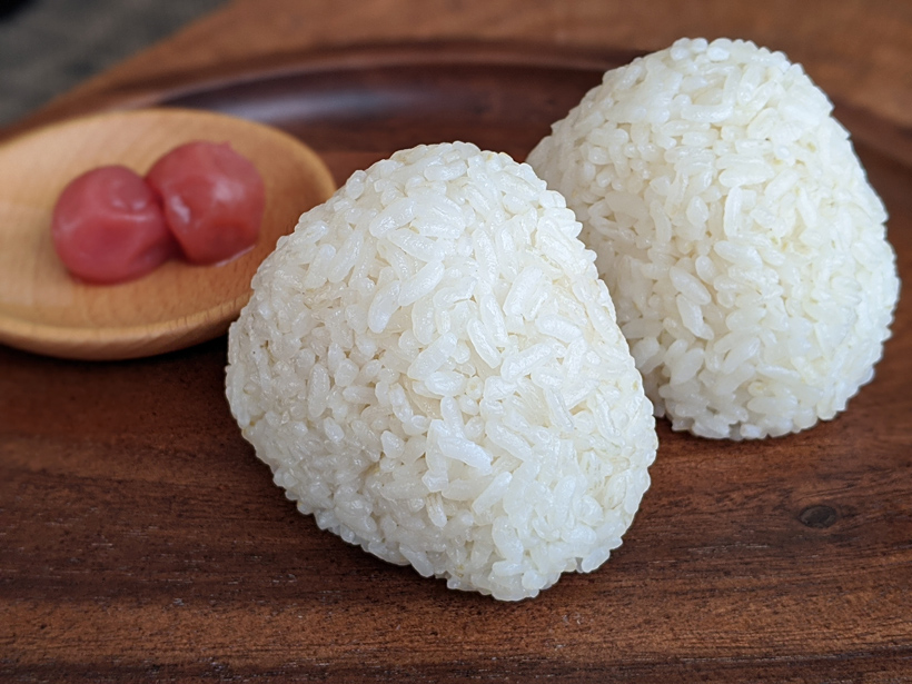 自然栽培米おにぎり
