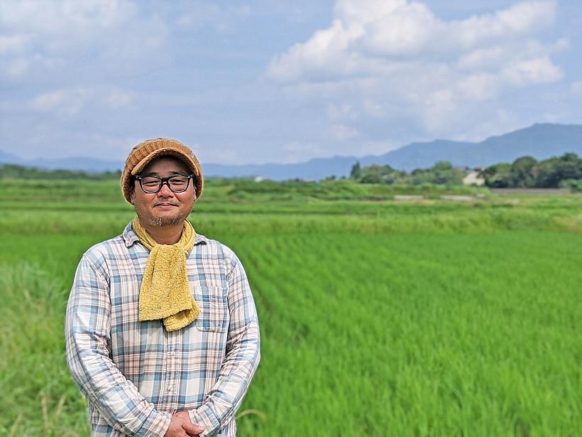大森自然栽培米ミナミニシキ