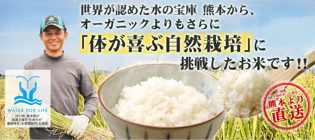 熊本自然栽培米サイト
